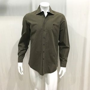 Burberry Brit Men's Brown Checkered Shirt